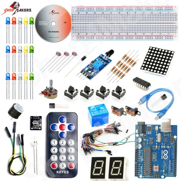 Kit apprentissage Arduino Maroc